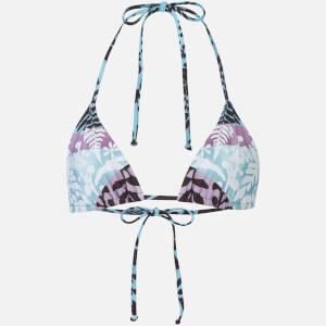 Mara Hoffman Women's Verbena String Bikini Top - Sage/Multi