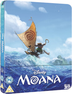 Moana 3D (Includes 2D Version) - Zavvi UK Exclusive Limited Edition Steelbook