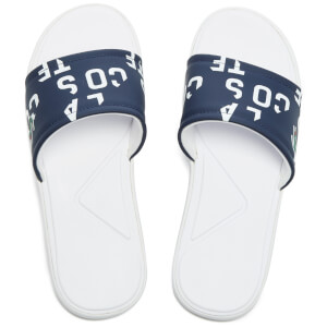 Lacoste Men's L.30 Slide 117 2 Slide Sandals - Navy