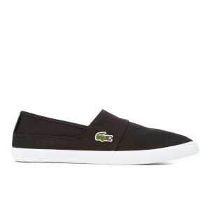 Lacoste Men's Marice BL 2 Canvas Slip-On Pumps - Black