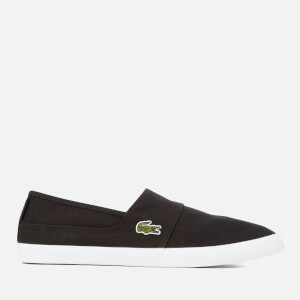 Lacoste Men's Marice Canvas Slip-On Pumps - Black