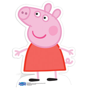 Mini Silhouette Découpée Peppa Pig