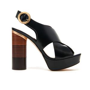 Ted Baker Women's Kamilla Leather Platform Sandals - Black