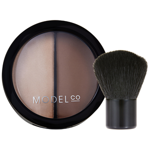 Пудра для придания контура и хайлайтер 2-в-1 ModelCo Contour 2-in-1 Duo
