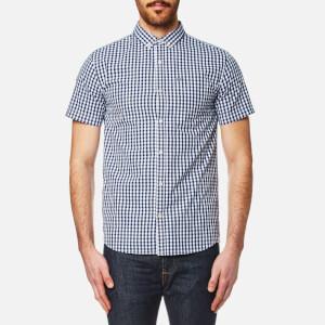 Superdry Men's Ultra Lite Oxford Short Sleeve Shirt - Premium Oxford Navy