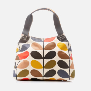 Orla Kiely Women's Stem Classic Zip Shoulder Bag - Multi