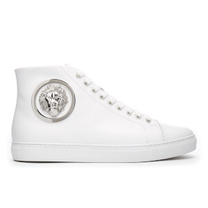 Versus Versace Men's Mid Top Trainers - White