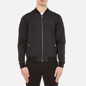 Versus Versace Men's Back Print Bomber Jacket - Black