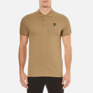 Versace Collection Men's Pique Polo Shirt - Verde