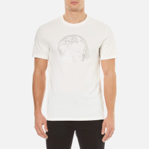 Versace Collection Men's Embellished Logo T-Shirt - White