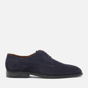 PS by Paul Smith Men's Leo Suede Derby Shoes - Oceano