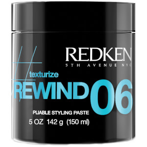 Redken Rewind 06 Pliable Texturizing Hair Styling Paste 5oz