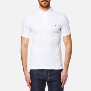Polo Ralph Lauren Men's Slim Fit Mesh Polo Shirt - White