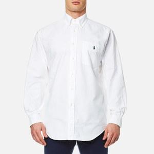 Polo Ralph Lauren Men's Oversized Pocket Shirt - White