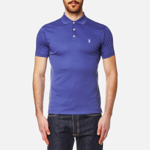 Polo Ralph Lauren Men's Pima Cotton Slim Fit Polo Shirt - Blue