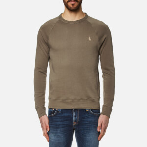 Polo Ralph Lauren Men's Crew Neck Sweatshirt - Dark Fatigue