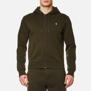 Polo Ralph Lauren Men's Zip Sweatshirt - Company Olive