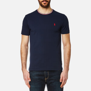 Polo Ralph Lauren Men's Tipped Crew Neck T-Shirt - Navy