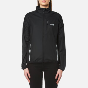 Jack Wolfskin Women's Flyweight Jacket - Black
