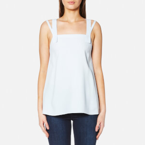 Helmut Lang Women's Cross Back Top - Aqua