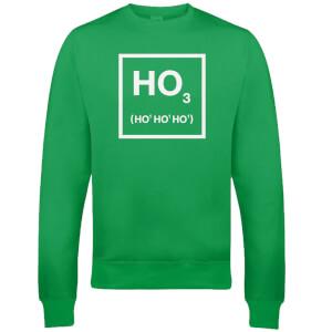 Pull de Noël Homme Ho Ho Ho - Vert