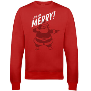 Get Merry Christmas Sweatshirt - Red