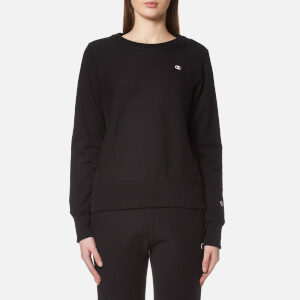 Champion Women's Crew Neck Sweatshirt - Black