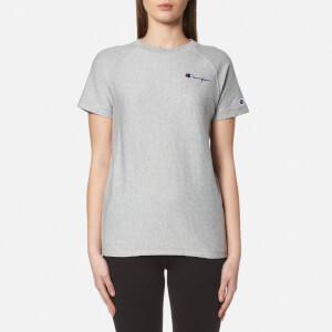 Champion Women's Crew Neck T-Shirt - Grey