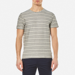Oliver Spencer Men's Conduit T-Shirt - Obi Ecru/Navy