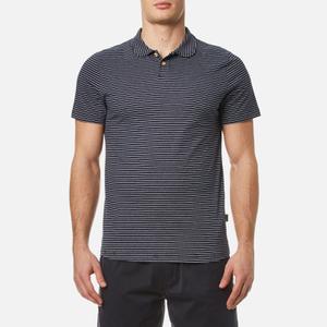 Oliver Spencer Men's Harper Polo Shirt - Harper Navy/Oatmeal