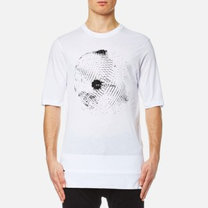 Helmut Lang Men's Disco Ball Print T-Shirt - Optic White