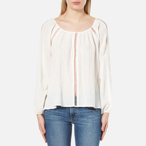 MINKPINK Women's Jaded Blouse - Off White