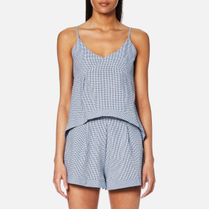 MINKPINK Women's Wanderer Cami Top - Navy/White