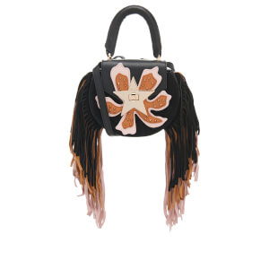 SALAR Women's Mimi Paradise Bag - Black/Natural/Soft Pink