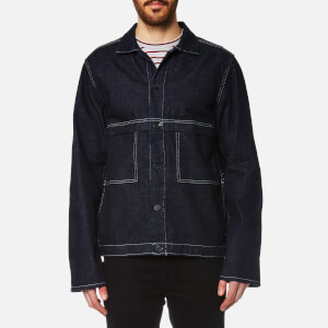 A.P.C. Men's Blouson Carnac Denim Jacket - Indigo