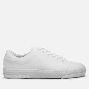 A.P.C. Men's Jean Tennis Shoes - Blanc