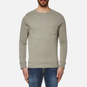 A.P.C. Men's Worker Sweatshirt - Kaki Clair