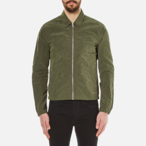 Folk Men's Lightweight Zipped Jacket - Field Green