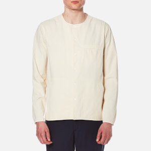 Folk Men's Long Sleeve Shirt - Ecru