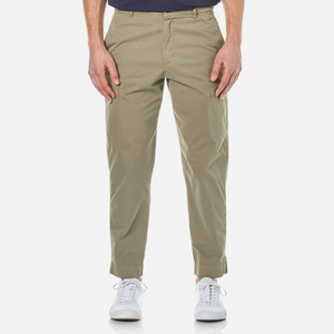 Folk Men's Cropped Trousers - Soft Military