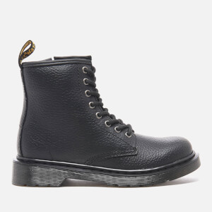 Dr. Martens Kids' Delaney Lace Boots - Black