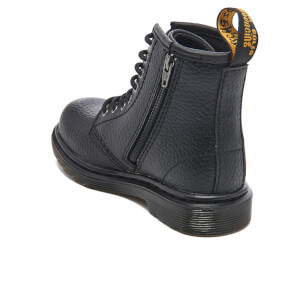 Dr. Martens Toddlers' Brooklee Lace Boots - Black: Image 4