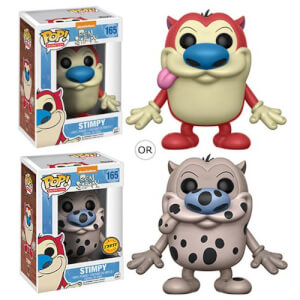 Ren and Stimpy Cartoon Stimpy Pop! Vinyl Figure
