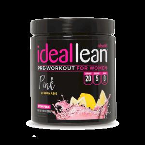 IdealLean Stim Free Preworkout Pink Lemonade