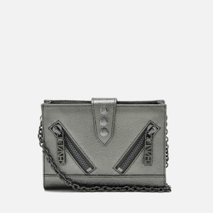 KENZO Women's Kalifornia Wallet on a Chain - Gunmetal