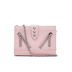 KENZO Women's Kalifornia Wallet on a Chain - Light Pink