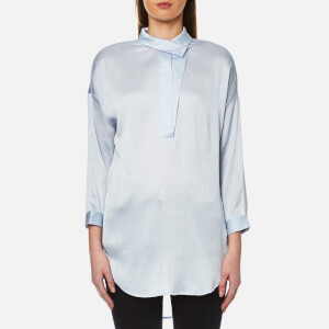 Selected Femme Women's Augusta 7/8 Shirt - Xenon Blue