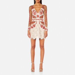 For Love & Lemons Women's Matador Tulle Dress - Melon