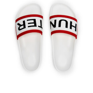 Hunter Men's Original Slide Sandals - White