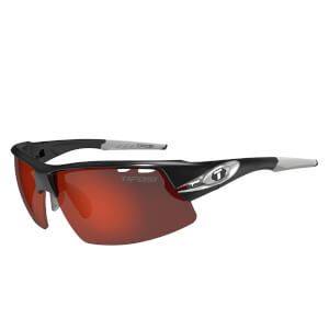Tifosi Crit Interchangeable Sunglasses - Silver/Clarion Red